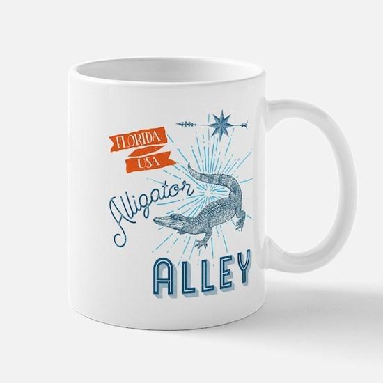 Alligator Alley Florida Everglades Mugs