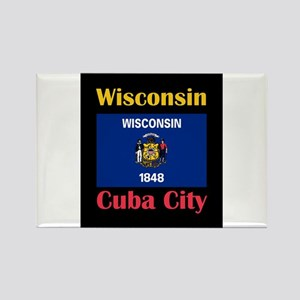 Cuba City Wisconsin Magnets