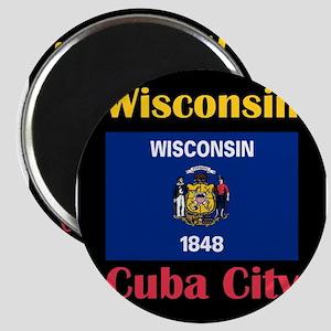 Cuba City Wisconsin Magnets