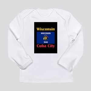 Cuba City Wisconsin Long Sleeve T-Shirt