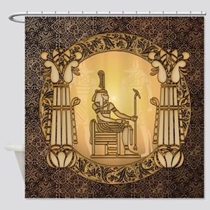 Egyptian sign and anubis Shower Curtain