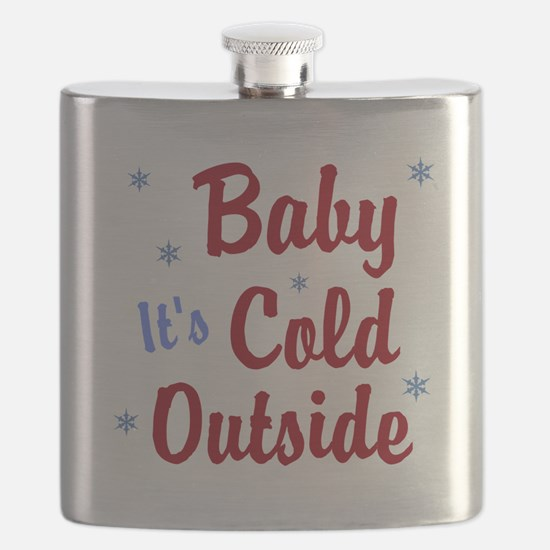 Baby Its Cold Outside Flask