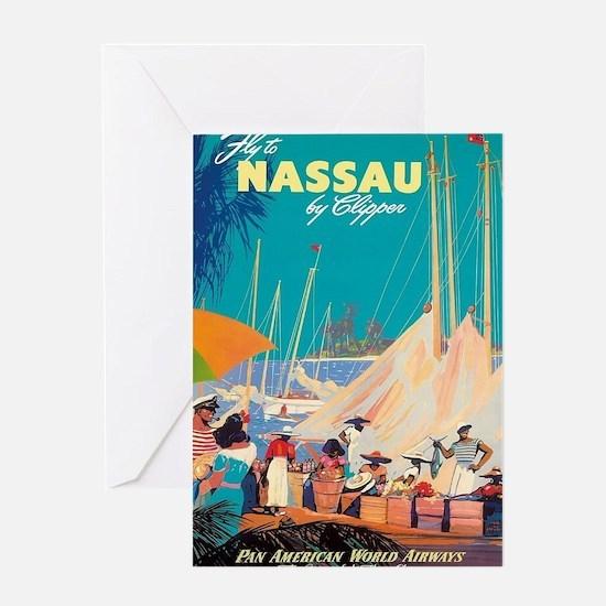 Cute Nassau bahamas Greeting Card