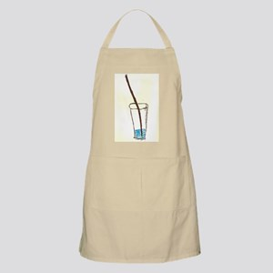 drink and straw Apron