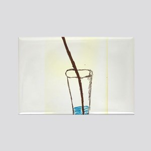 drink and straw Magnets