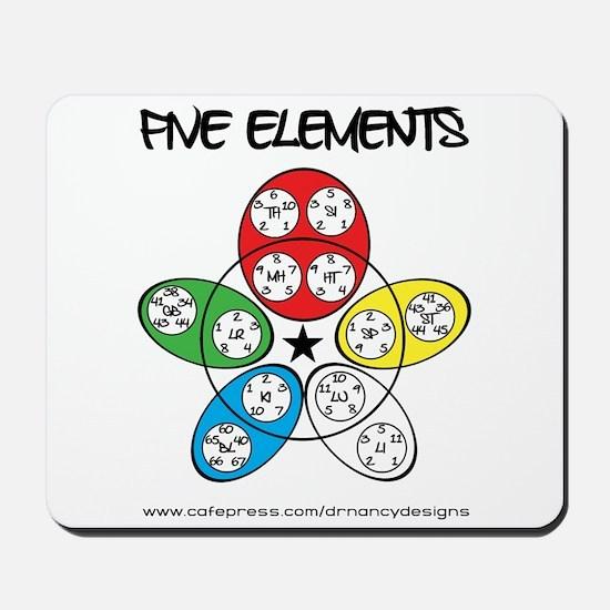Five Elements Mousepad