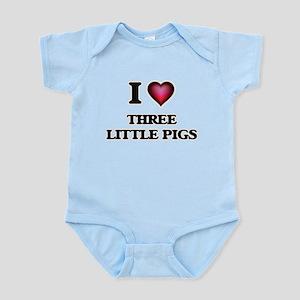 I love Three Little Pigs Body Suit