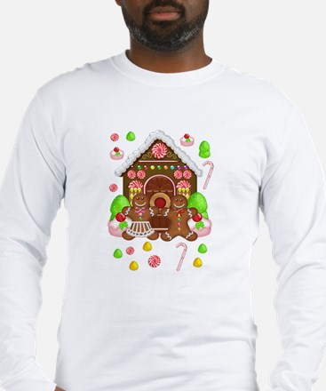 Gingerbread People Long Sleeve T-Shirt