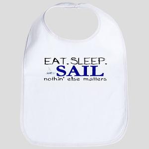 Eat Sleep Sail Bib