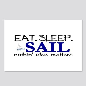 Eat Sleep Sail Postcards (Package of 8)