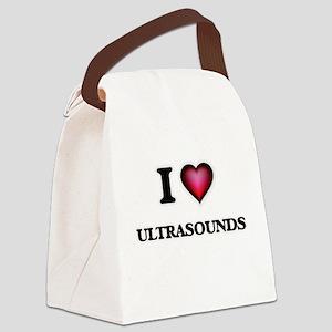 I love Ultrasounds Canvas Lunch Bag