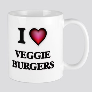 I love Veggie Burgers Mugs