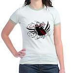 Love Without Labels Jr. Ringer T-Shirt