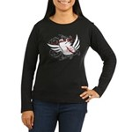 Love Without Labels Women's Long Sleeve Dark T-Shi