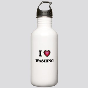 I love Washing Stainless Water Bottle 1.0L
