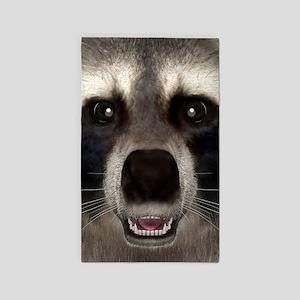 Raccoon Area Rug