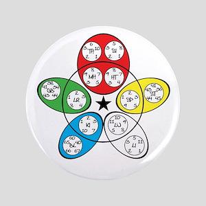 """Five Elements 3.5"""" Button"""
