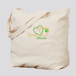 loving hearts Tote Bag