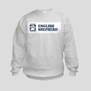 ENGLISH SHEPHERD Kids Sweatshirt