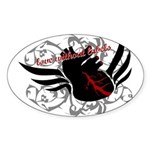 Love Without Labels Sticker (Oval)