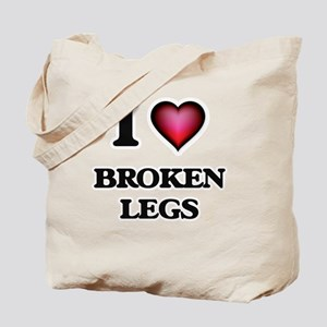 I love Broken Legs Tote Bag