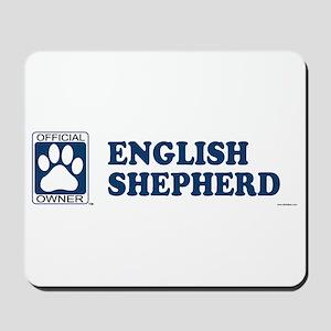 ENGLISH SHEPHERD Mousepad