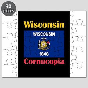 Cornucopia Wisconsin Puzzle