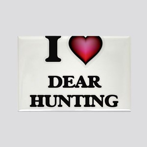 I love Dear Hunting Magnets