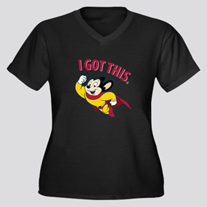 Mighty Mouse - I Got This Plus Size T-Shirt