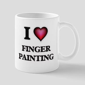 I love Finger Painting Mugs