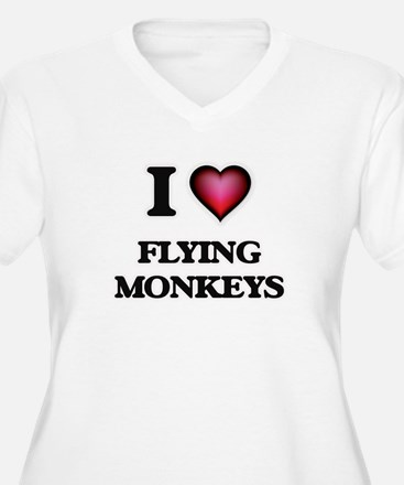 I love Flying Monkeys Plus Size T-Shirt