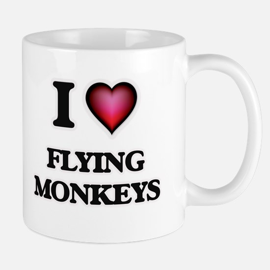 I love Flying Monkeys Mugs