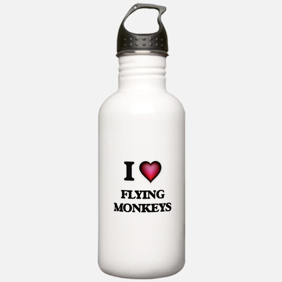 I love Flying Monkeys Water Bottle