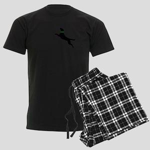 black dog new pocket Pajamas