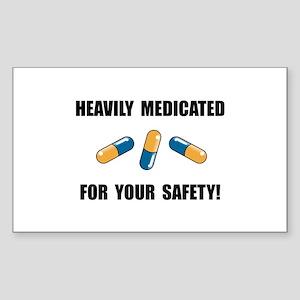 Heavily Medicated Sticker