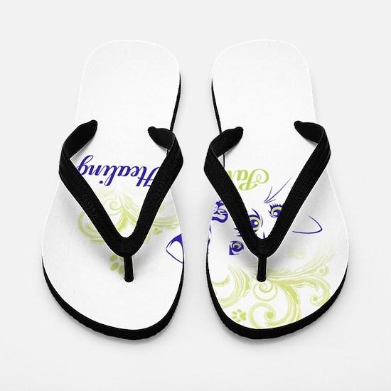 paws for healing Flip Flops