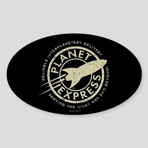 Planet Express Logo Sticker (Oval)