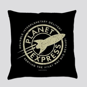 Planet Express Logo Everyday Pillow