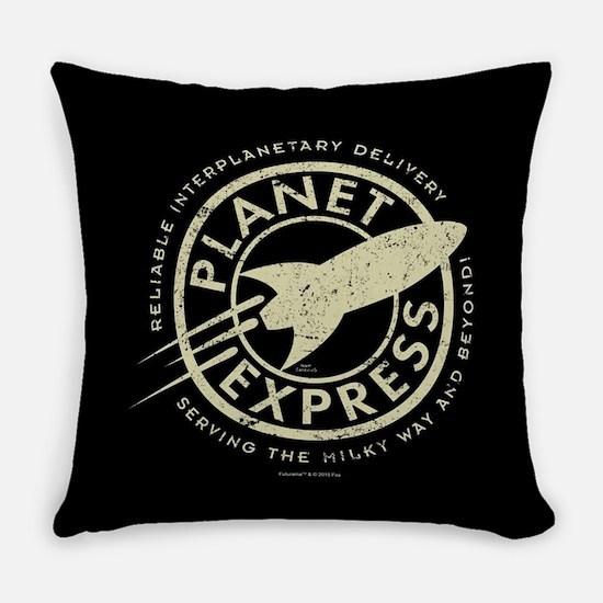 Planet Express Logo Everyday Pillow