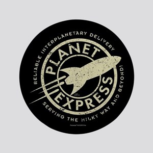 Planet Express Logo Button