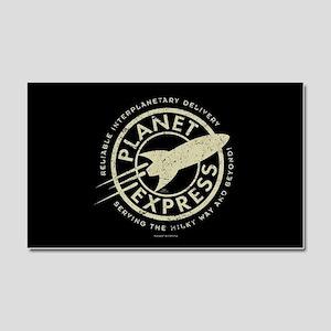 Planet Express Logo Car Magnet 20 x 12