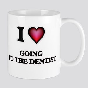 I love Going To The Dentist Mugs