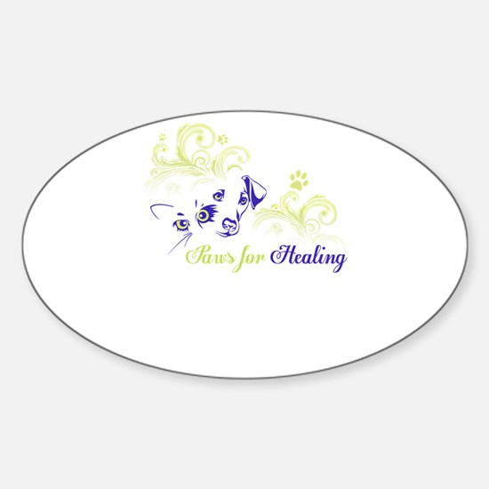 paws for healing Decal