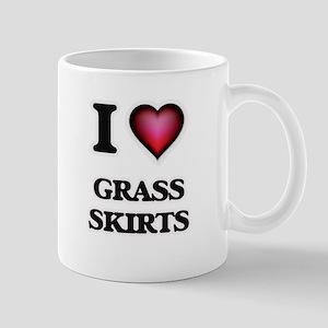 I love Grass Skirts Mugs