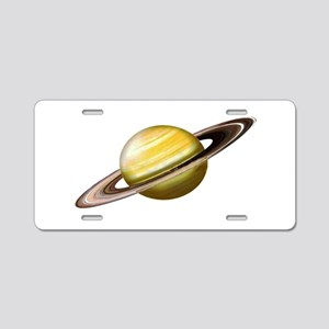 RINGS Aluminum License Plate