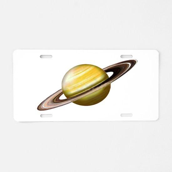 RINGS Aluminum License Plate