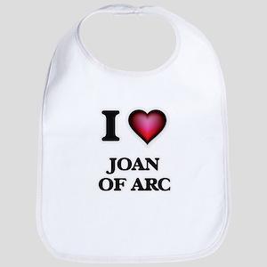 I love Joan Of Arc Baby Bib