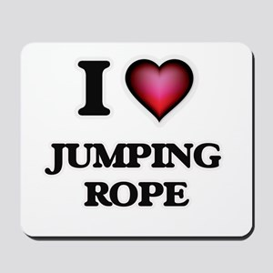 I love Jumping Rope Mousepad