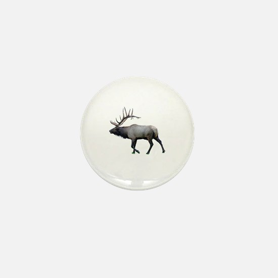 Cute Elk hunting Mini Button