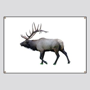 Willow Wapiti elk Banner